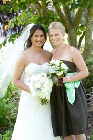 Meg and I on our Catholic wedding day