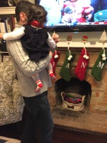 All of our stockings are up!